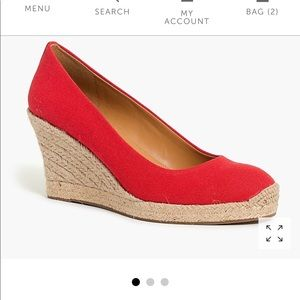 HOT Wedges! Almost Sold OUT! (RED)